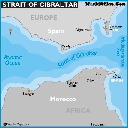 Strait Of Gibraltar svg #8, Download drawings