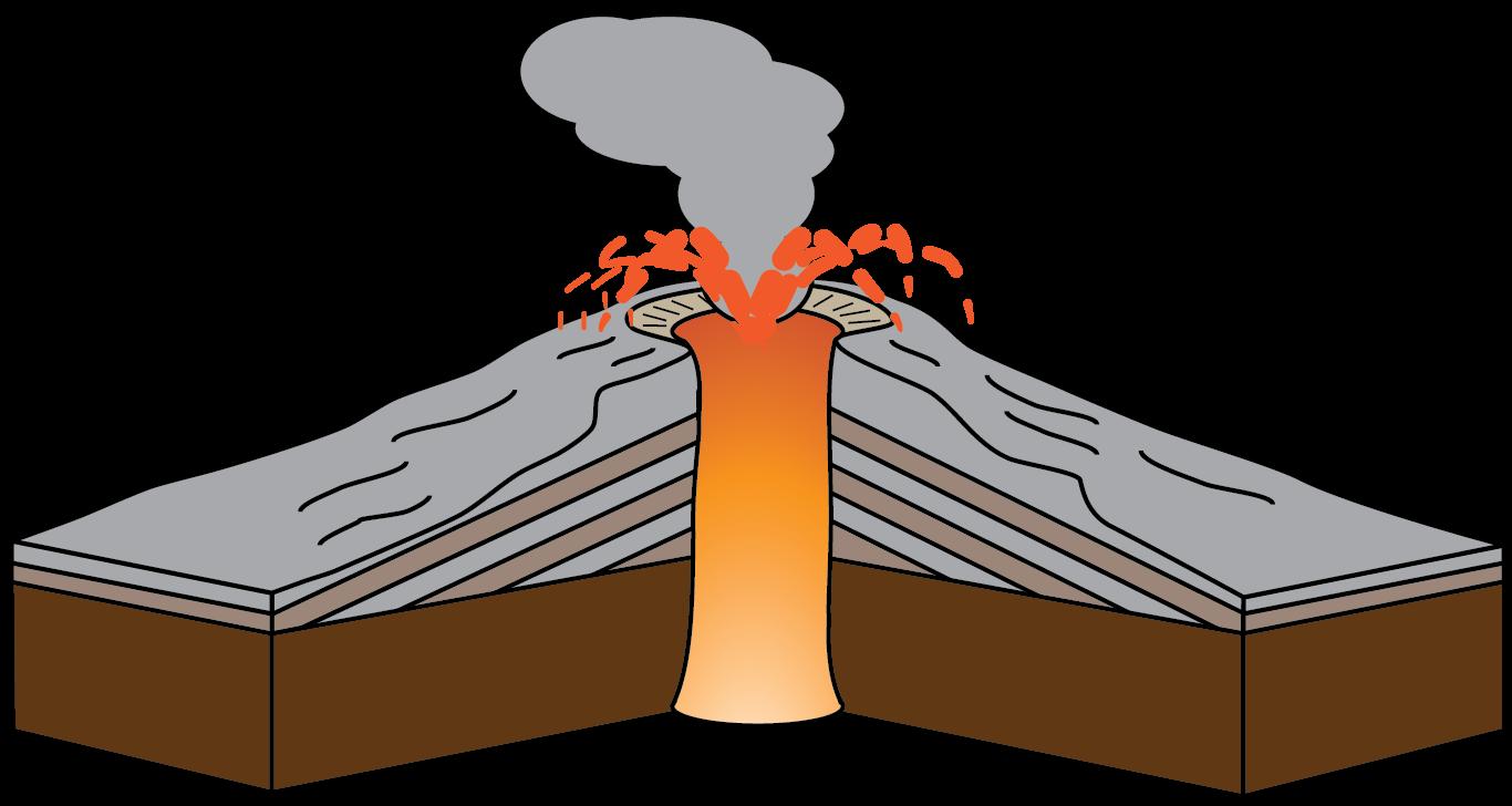 Stratovolcano clipart, Download Stratovolcano clipart for ...