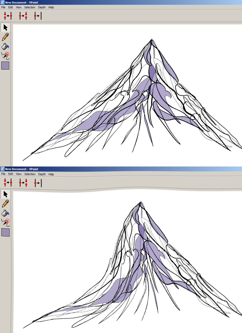Stratovolcano coloring, Download Stratovolcano coloring