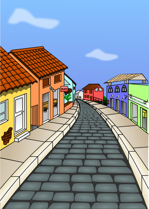 Street clipart #8, Download drawings
