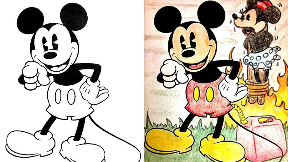 Stub coloring #5, Download drawings