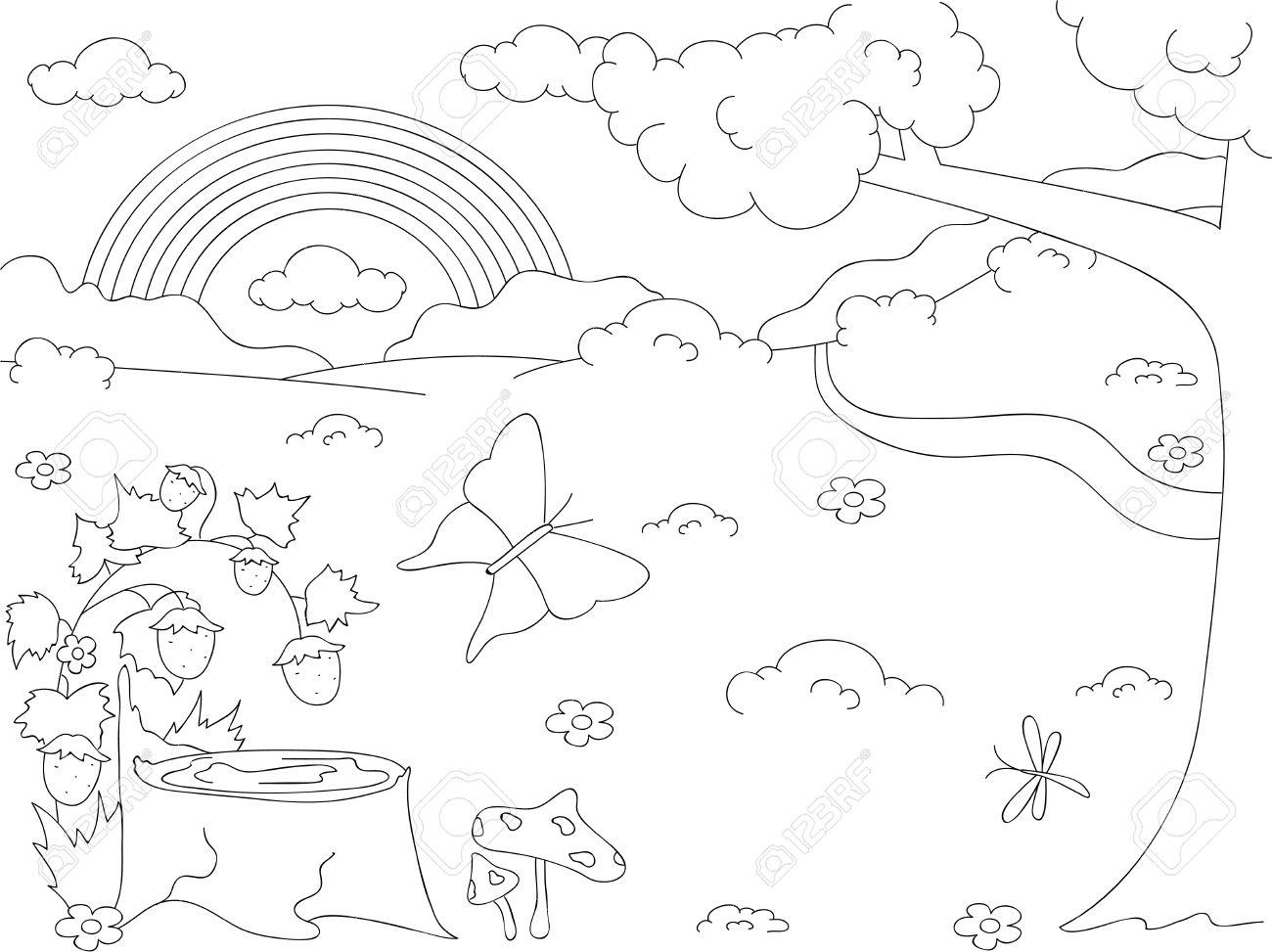 Stub coloring #18, Download drawings
