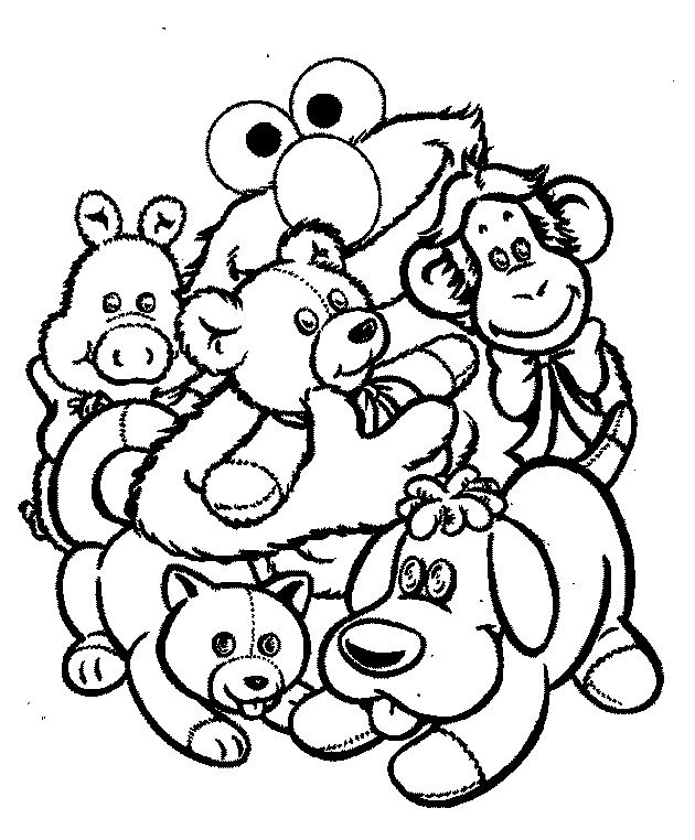 Stuffed Animal coloring, Download Stuffed Animal coloring ...