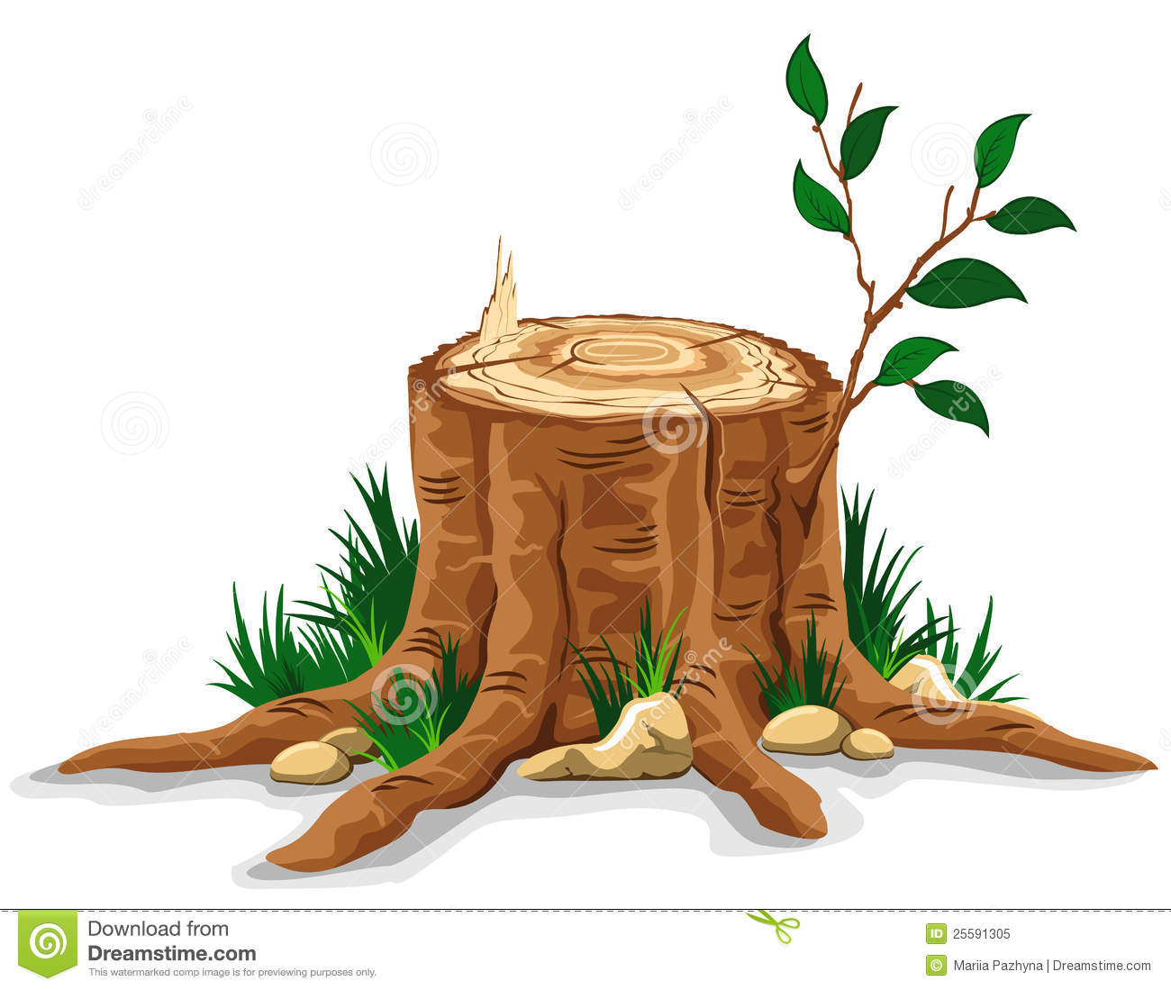 Stump clipart #18, Download drawings