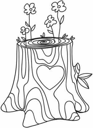 Stump coloring #19, Download drawings