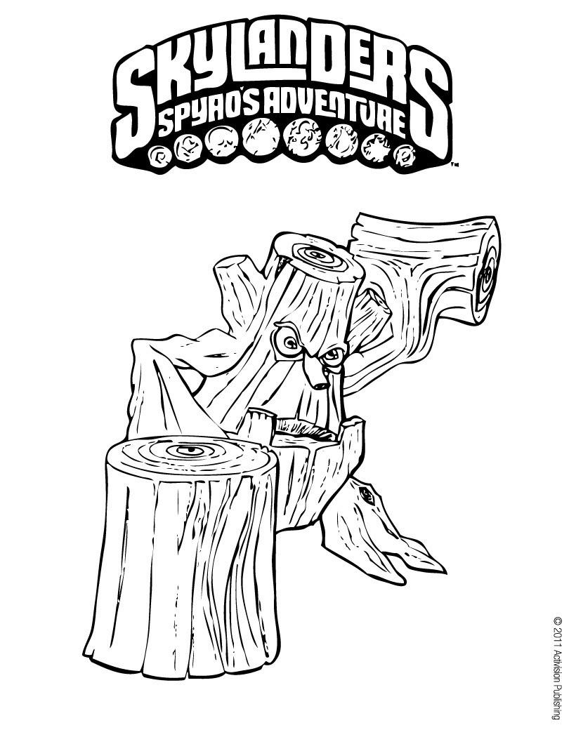 Stump coloring #7, Download drawings