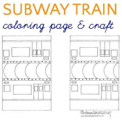 Subway coloring #16, Download drawings