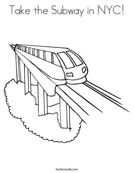 Subway coloring #20, Download drawings