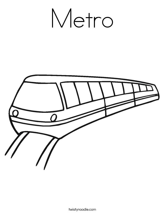 Subway coloring #19, Download drawings