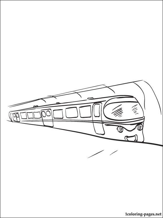 Subway coloring #7, Download drawings