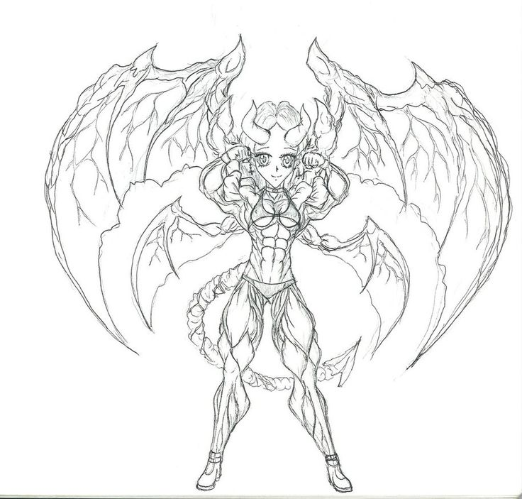 Succubus coloring #14, Download drawings