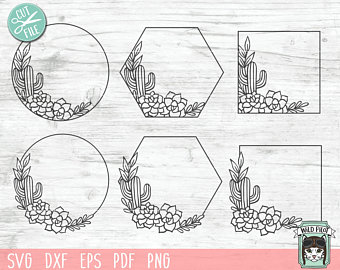 succulent svg #235, Download drawings