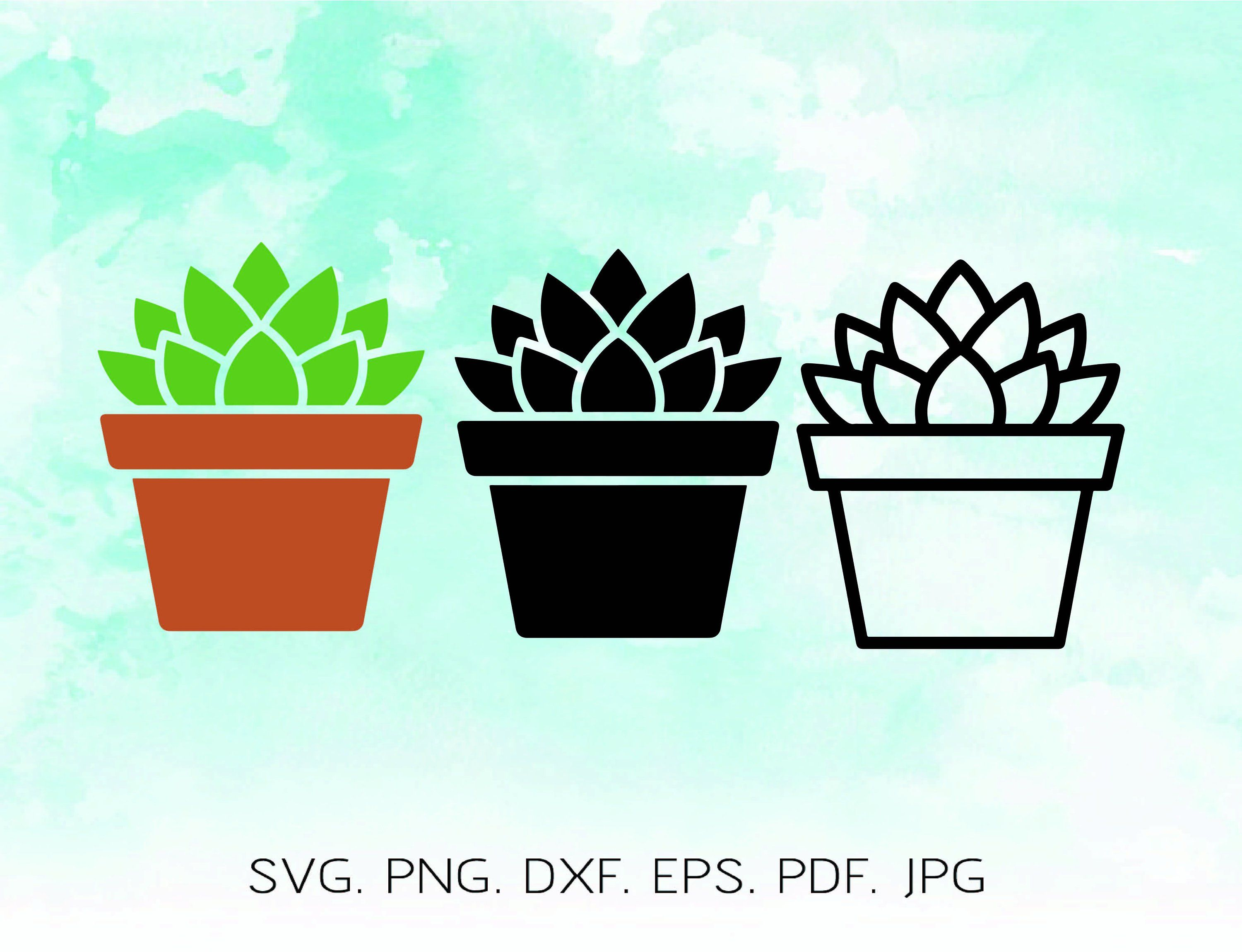 succulent svg #232, Download drawings