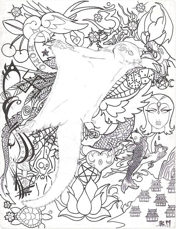 Sugar Glider coloring #3, Download drawings