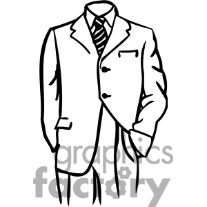 Suit clipart #9, Download drawings