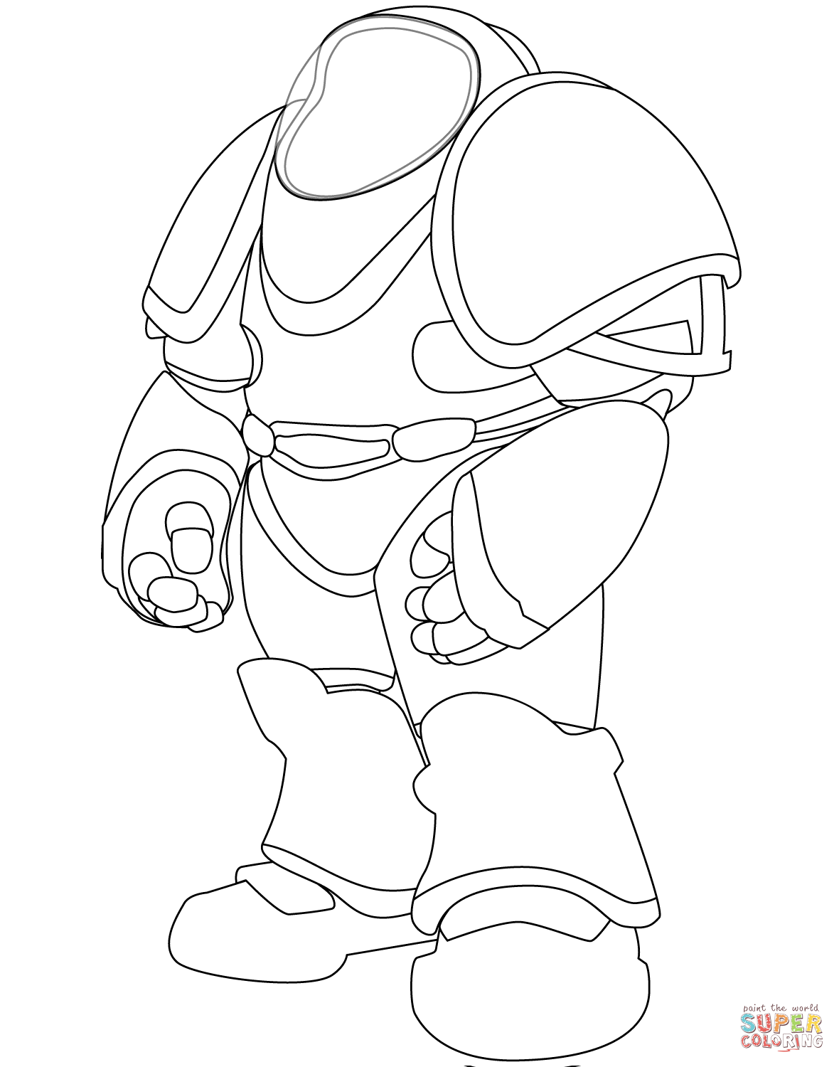 Space coloring #1, Download drawings