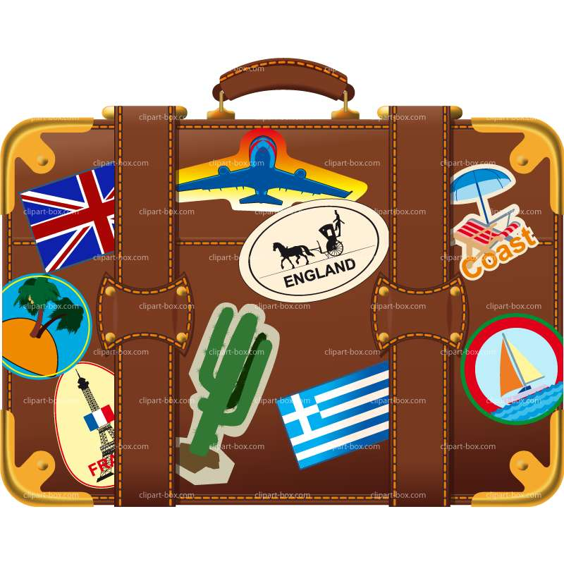 Suitcase clipart #10, Download drawings