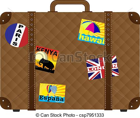 Suitcase clipart #12, Download drawings