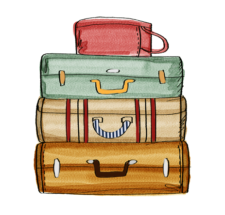 Suitcase clipart #2, Download drawings