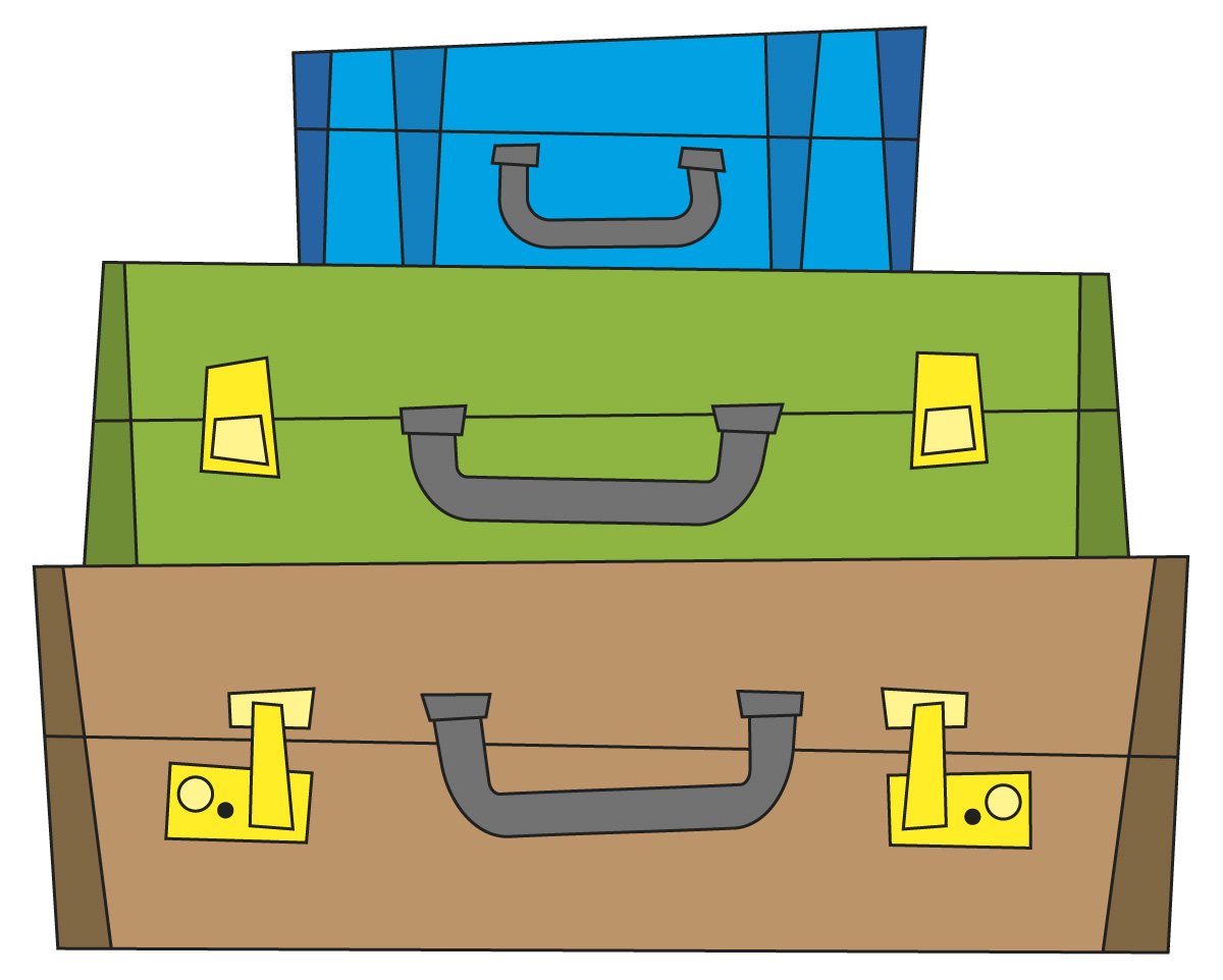 Suitcase clipart #1, Download drawings