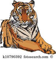Sumatran Tiger clipart #9, Download drawings