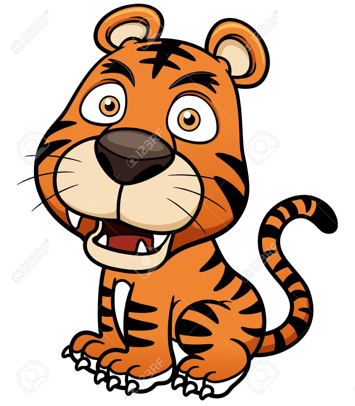 Sumatran Tiger clipart #7, Download drawings