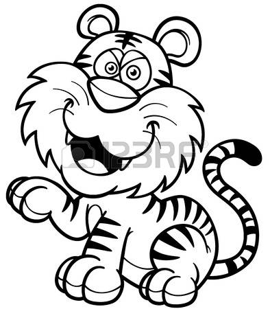 Sumatran Tiger coloring #1, Download drawings