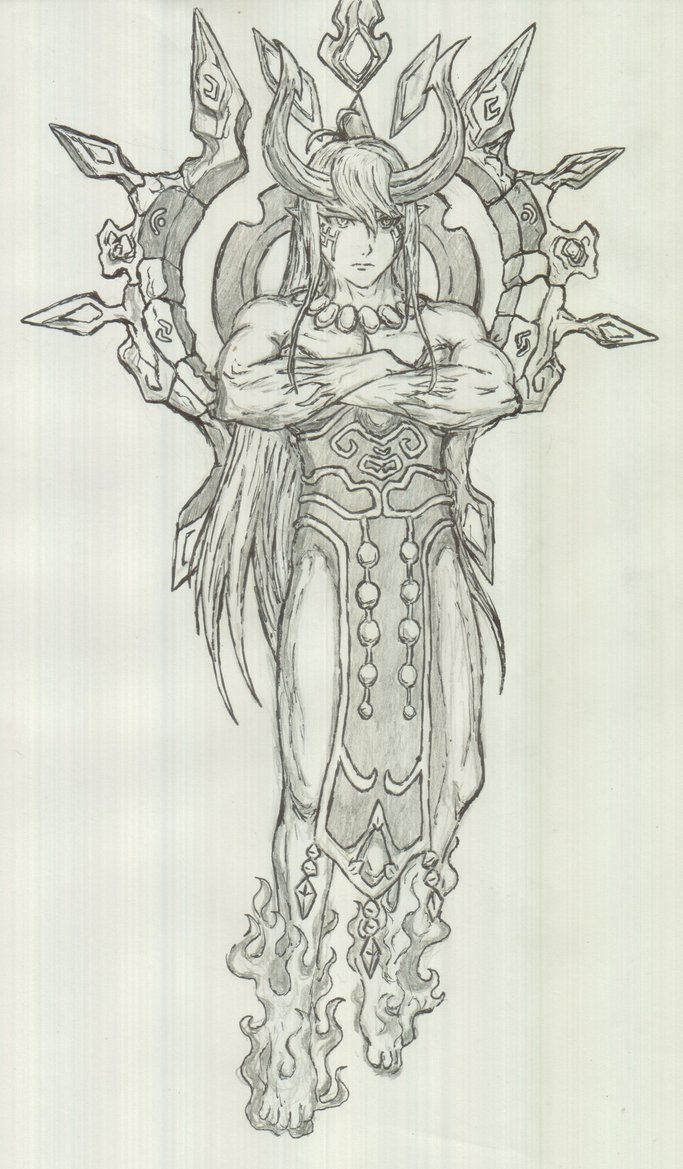 Summoner coloring #9, Download drawings