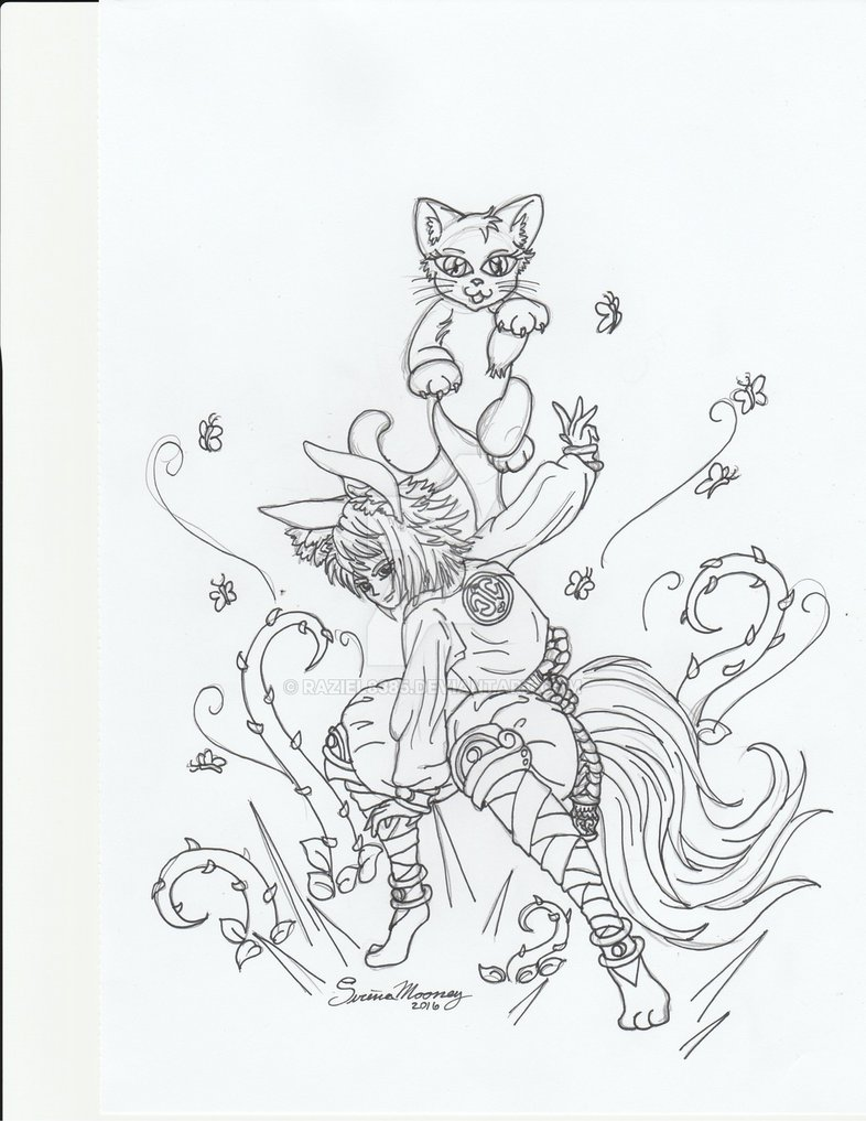Summoner coloring #10, Download drawings
