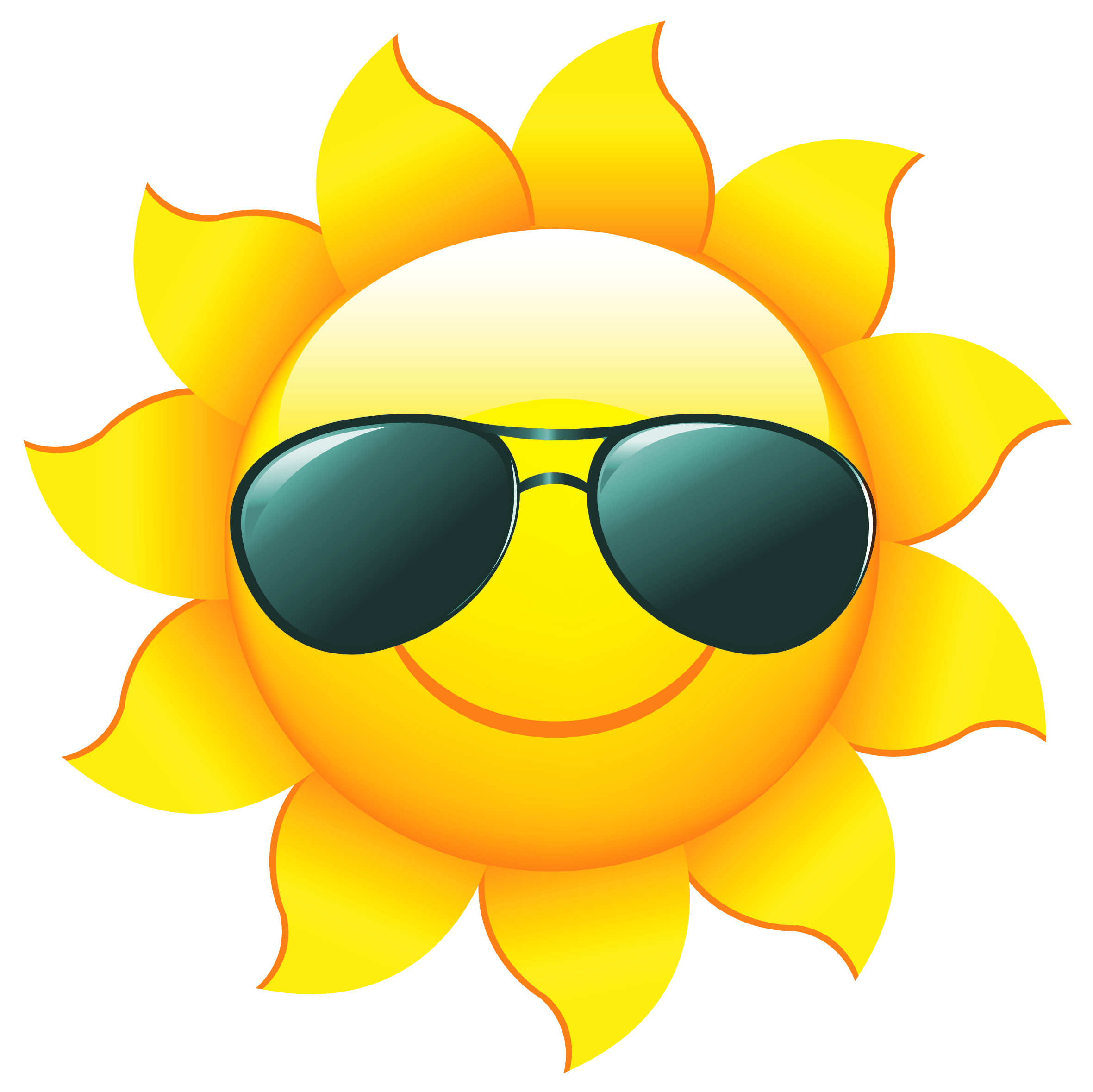 Sunshine clipart #2, Download drawings