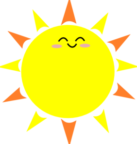 Sunshine clipart #9, Download drawings