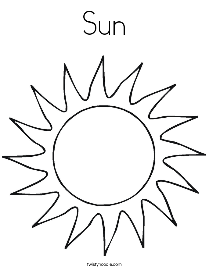 Sunny coloring #20, Download drawings