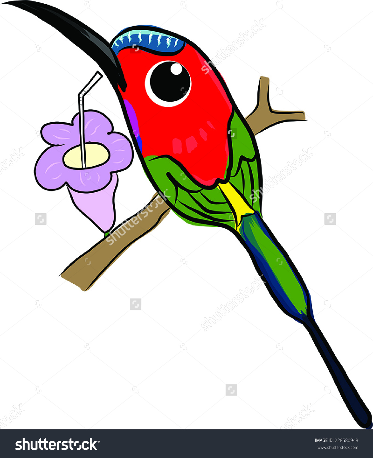 Sunbird clipart #4, Download drawings