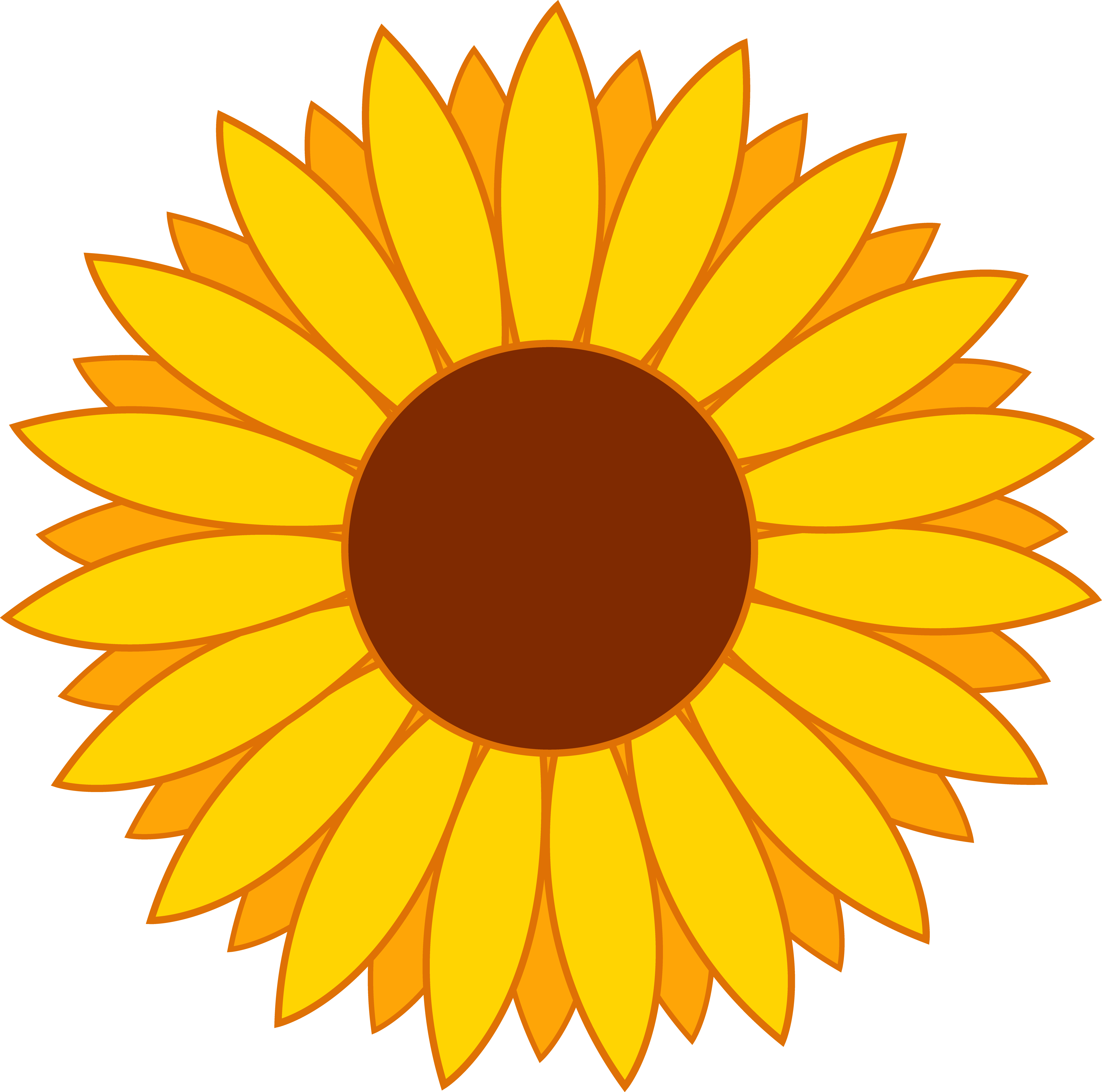 Sunflower clipart #5, Download drawings