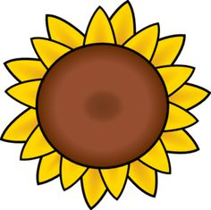 Sunflower clipart #9, Download drawings