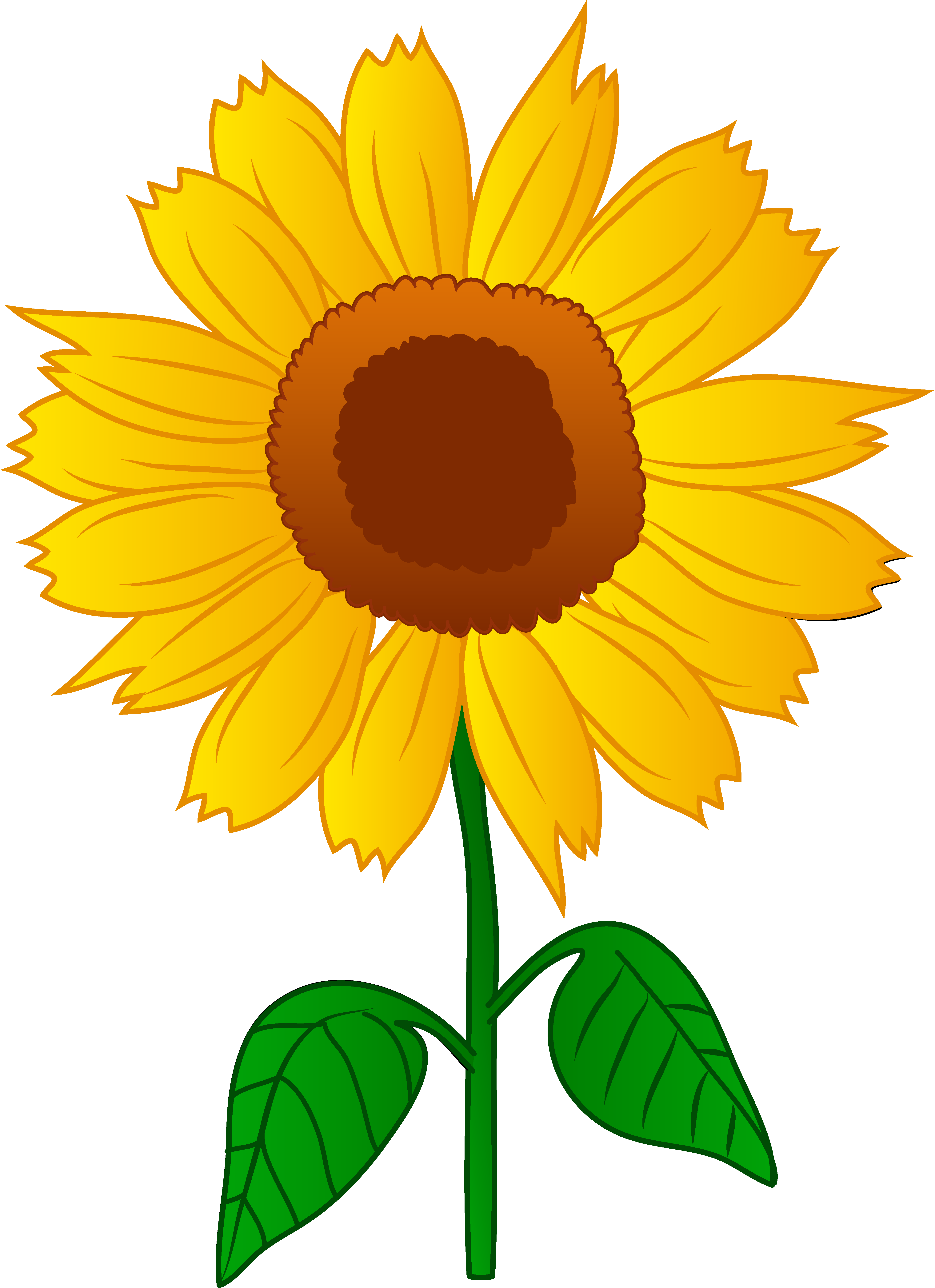 Sunflower clipart #4, Download drawings
