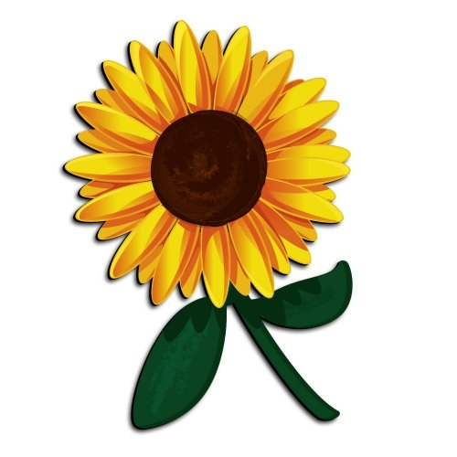 Sunflower clipart #6, Download drawings