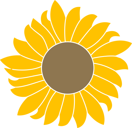Sunflower svg #19, Download drawings