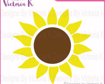 Sunflower svg #17, Download drawings