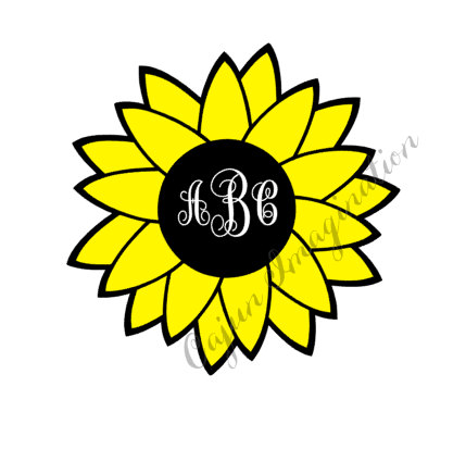 Sunflower svg #8, Download drawings