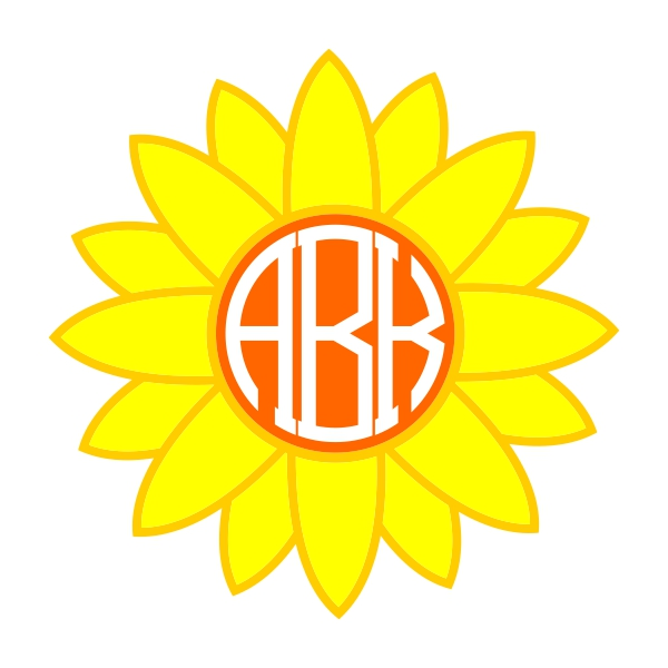 Sunflower svg #4, Download drawings