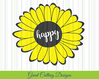 Sunflower svg #6, Download drawings