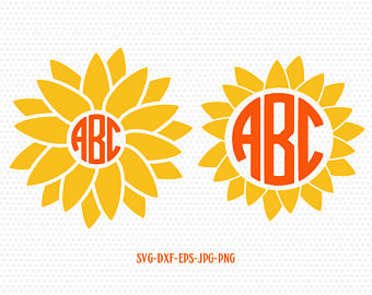 Sunflower svg #5, Download drawings