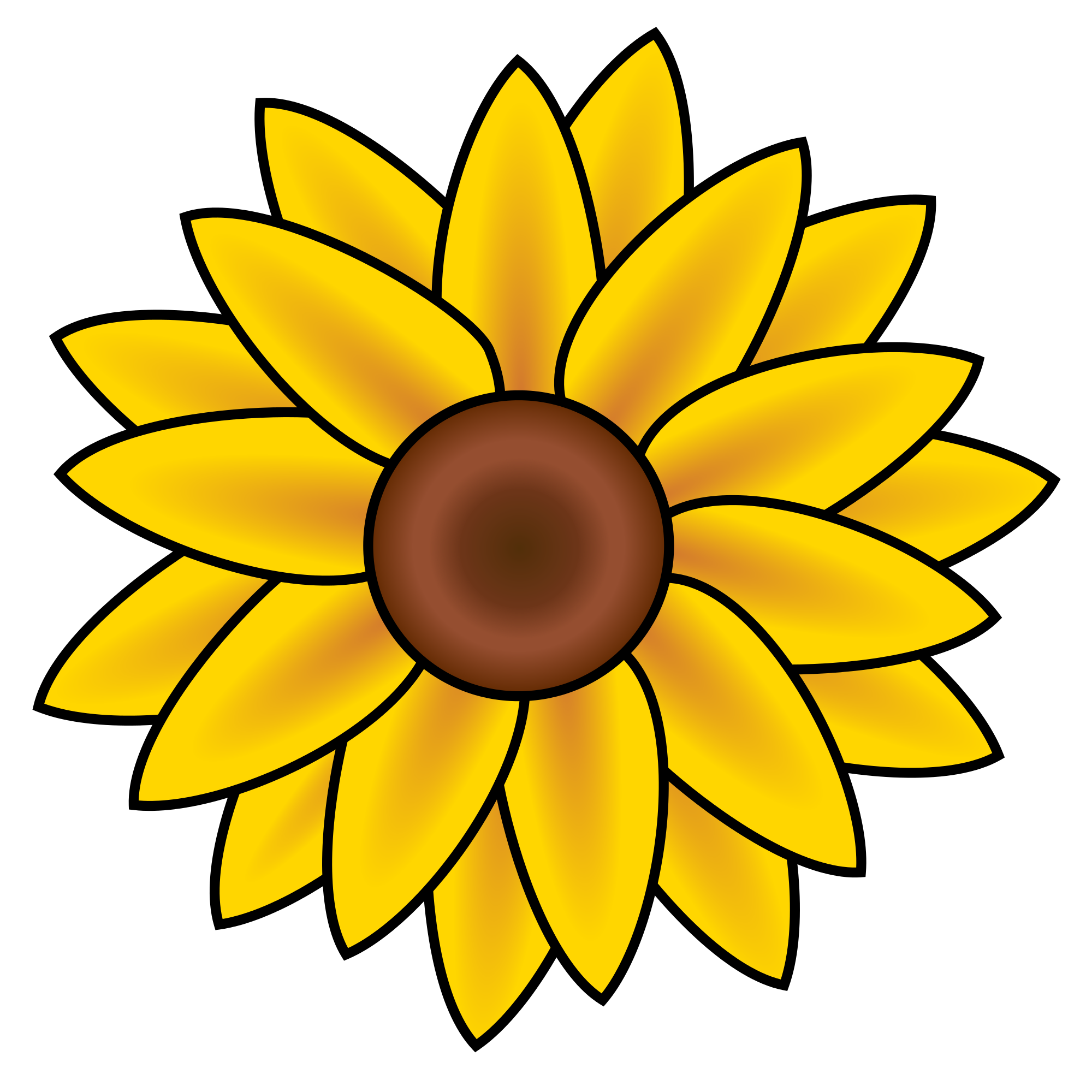 Sunflower svg #14, Download drawings