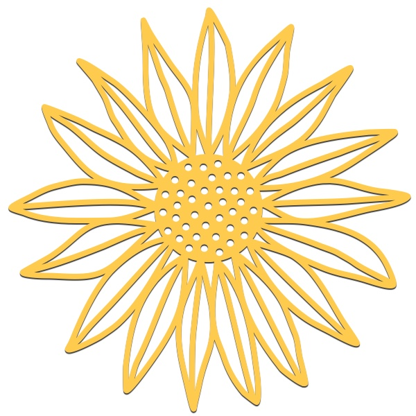 Sunflower svg #16, Download drawings