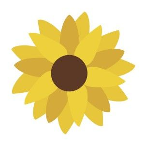 Sunflower svg #12, Download drawings