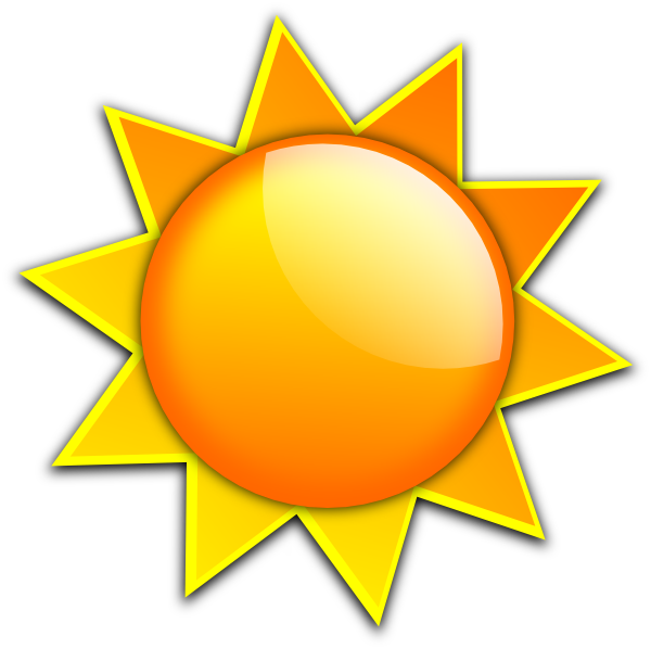 Sunlight clipart #15, Download drawings
