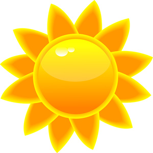 Sunlight clipart #1, Download drawings