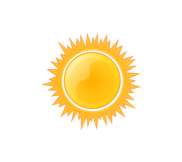 Sunny clipart #2, Download drawings