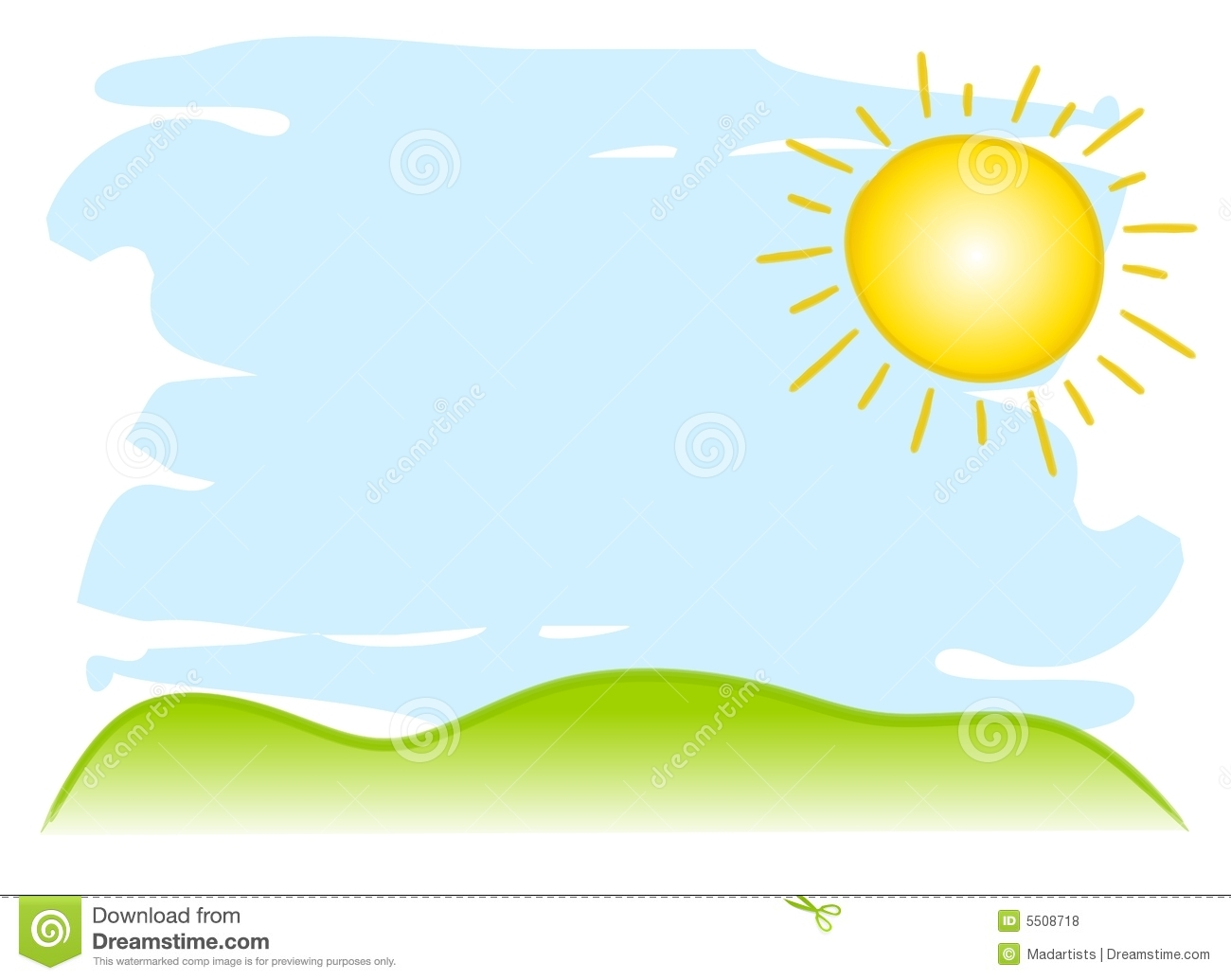 Sunny clipart #3, Download drawings